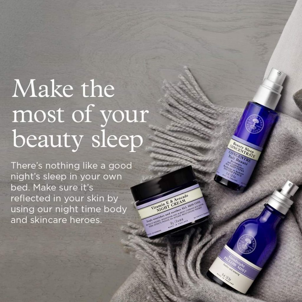 sleep and skincare night time heroes